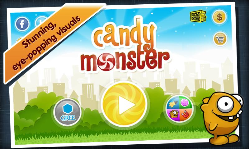 Candy Monster - screenshot