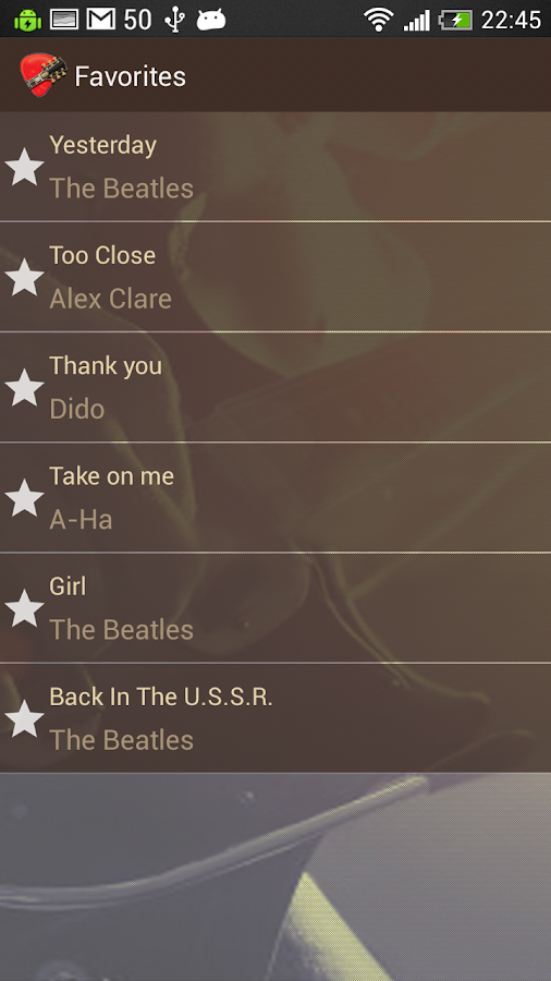 Chords - screenshot