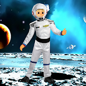 Dancing Spaceman Live Wallpapr