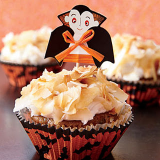 Carrot-Coconut Spice Cupcakes