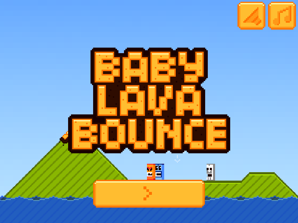 Baby Lava Bounce- screenshot