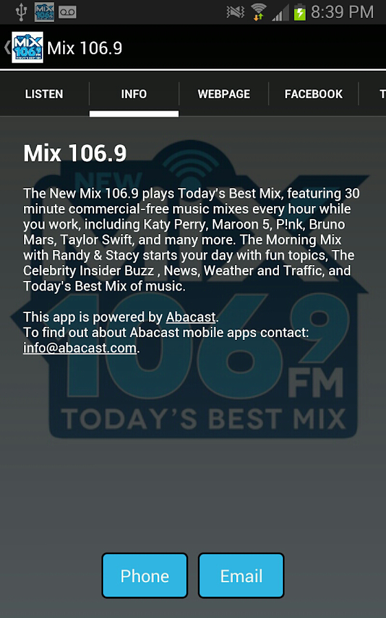 Lite Rock 107 - screenshot
