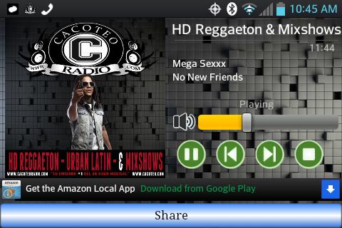 Cacoteo HD Mobile Radio