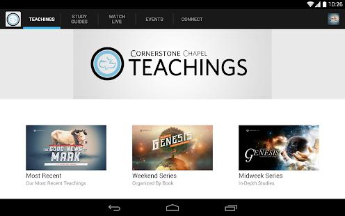 Cornerstone Chapel - screenshot thumbnail
