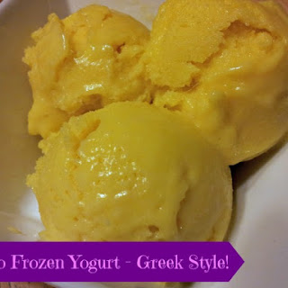 Mango Greek Frozen Yogurt