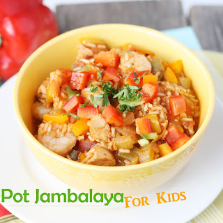 One-Pot Jambalaya for Kids.