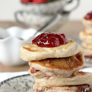 Healthy Jam Swirled Silver Dollar Pancakes