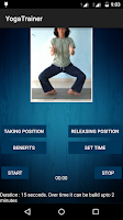 Screenshot of Yoga Trainer Free