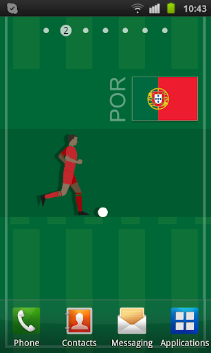 Portugal Soccer LWP