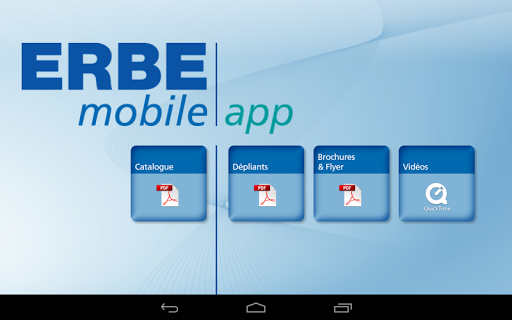 ERBE Produits