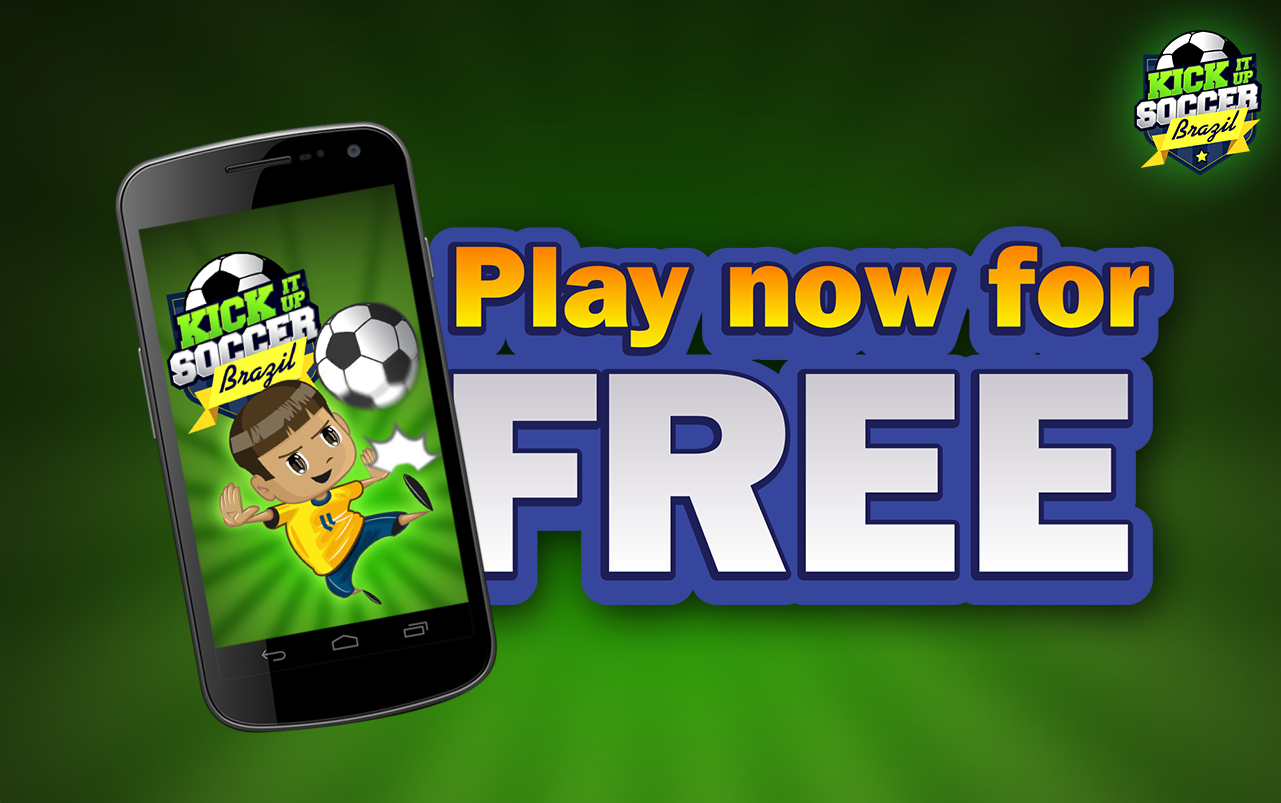 Kick It Up Soccer Brazil- screenshot