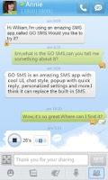 Screenshot of GO SMS Pro GO1.0 Theme
