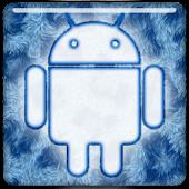 GO Keyboard - Blue Fur
