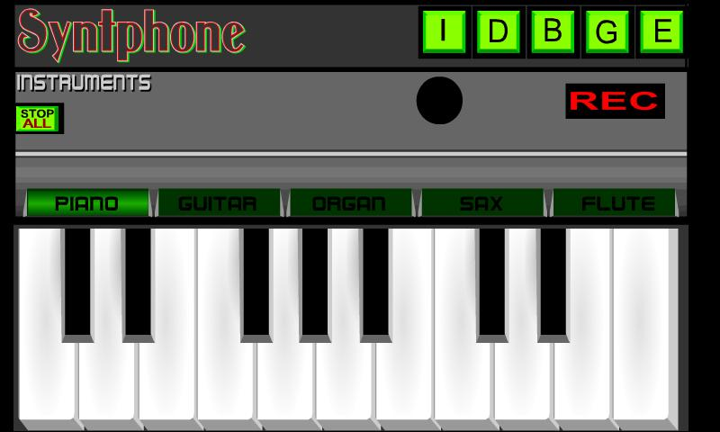Syntphone- screenshot