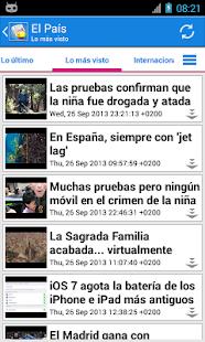 España Noticias - screenshot thumbnail