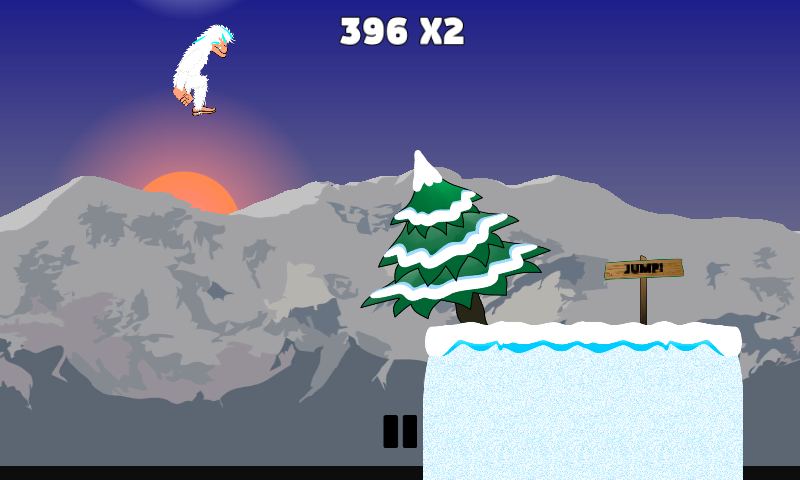 Yeti Run- screenshot