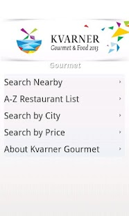 Kvarner Gourmet & Food - screenshot thumbnail