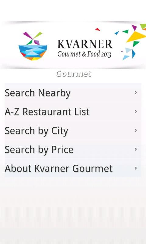 Kvarner Gourmet & Food - screenshot