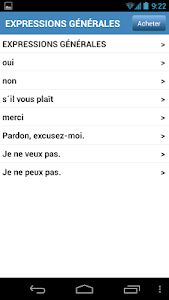 Conversation de voyage screenshot 2