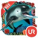 UR 3D Ocean Dolphin Shark HD mobile app icon