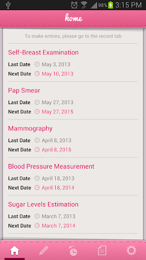 【免費醫療App】Women's Health Screening-APP點子