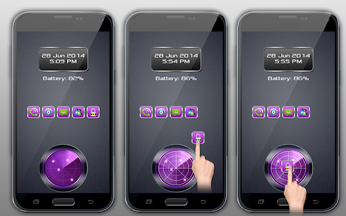 Finger Drag Screen Lock - screenshot thumbnail