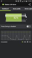 Screenshot of Battery Life Saver