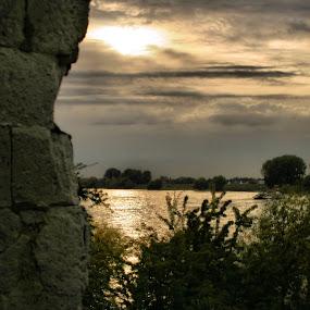 Sunshinerhine by Justus Böttcher - Landscapes Sunsets & Sunrises ( rhein )