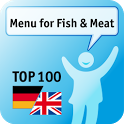 100 Menu for Fish & Meat Keywo icon