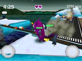 Screenshot of Robocat Rampage