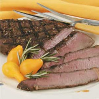 Sesame Sirloin Steak.