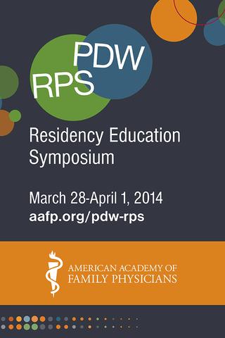 PDW RPS - A Residency Edu Sym.