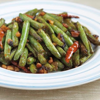 Dry-Fried Green Beans from 'The Chinese Takeout Cookbook'