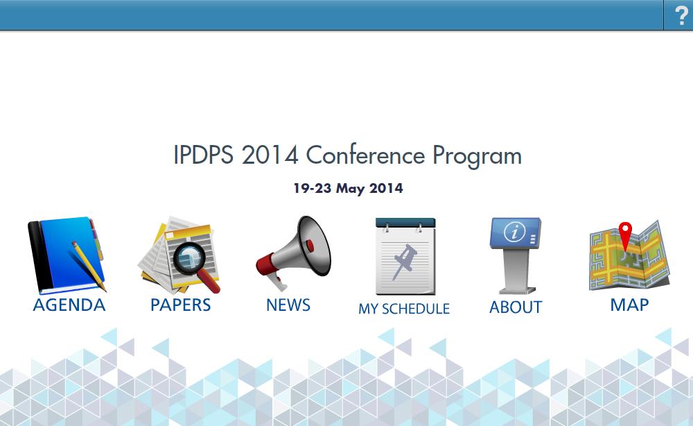 IPDPS - screenshot
