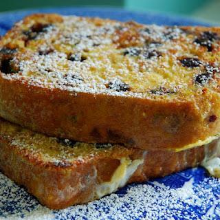 Pain Perdu with Blueberry Lemon Bread