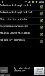 Galaxy Dock Sound Redirector - screenshot thumbnail