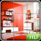 Tile Puzzle: Rooms
