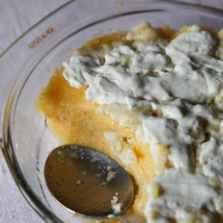 Mămăligă Cu Smăntănă (Romanian Polenta with Sour Cream)