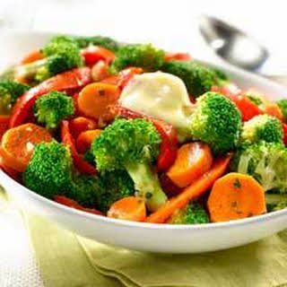Sauteed Broccoli, Carrots & Bell Peppers.