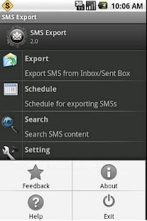 SMS Export and SMS Backup