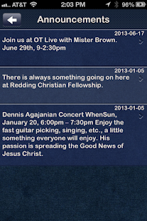 Redding Christian Fellowship- screenshot thumbnail