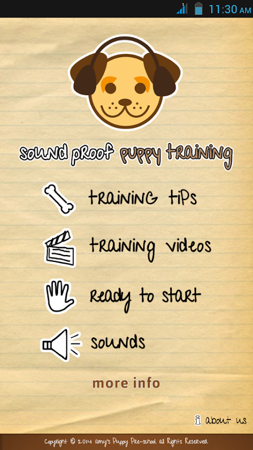 Sound Proof Puppy Training- screenshot