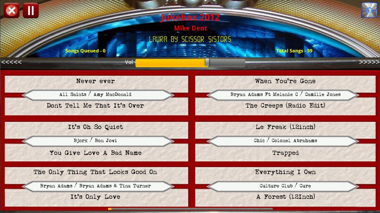 Jukebox 2012 Free Edition Android Apps On Google Play