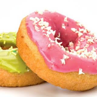 Baked Mini Cake Doughnuts.