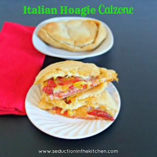Italian Hoagie Calzone