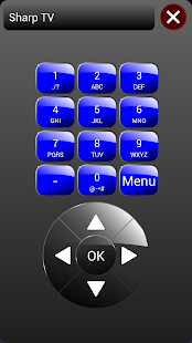 ZappIR Universal IR Remote Screenshot