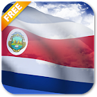 3D Costa Rica Flag Live Wallpaper icon