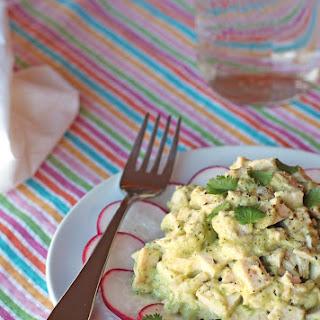 No Mayo Cilantro Chicken Salad