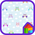 Colorful Owl dodol theme
