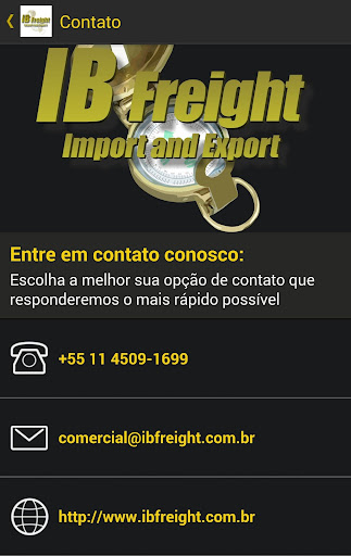 玩交通運輸App|IB FREIGHT Import Export免費|APP試玩